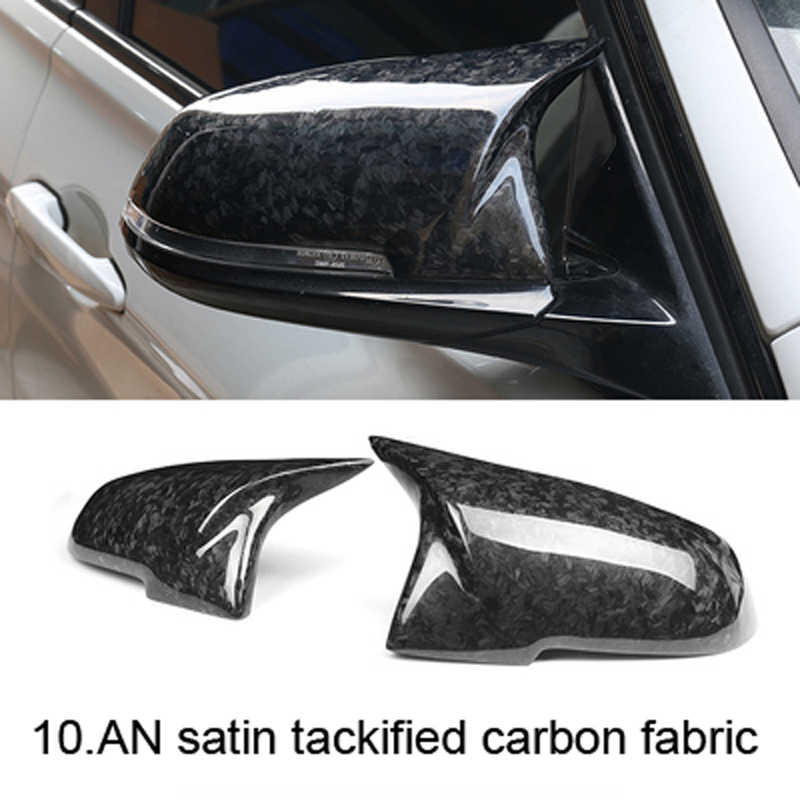 163401cf6ab6 ... Replacement Carbon Fiber Mirror Covers Caps Shell for BMW 1 2 3 4 series  M series