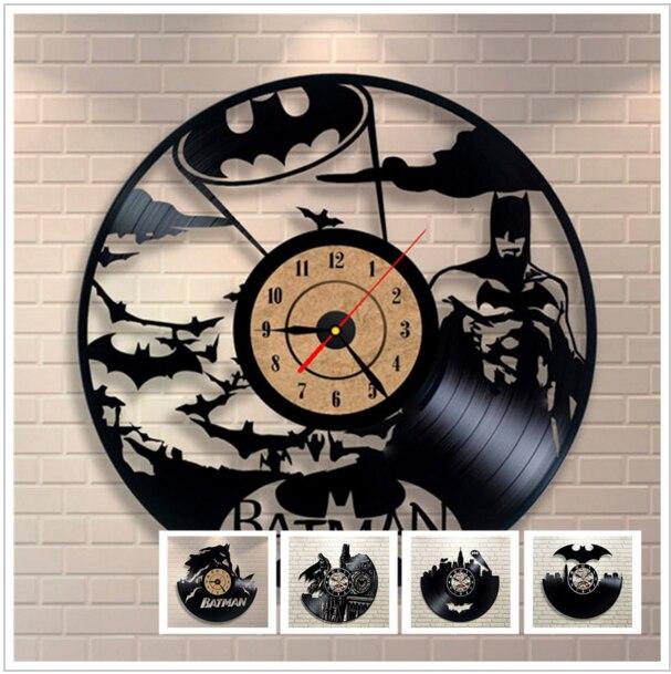 Batman Batman 3d Clock Watch Vinyl Record Clock Wall Clock