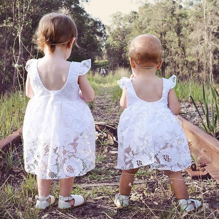 Aliexpress.com : Buy Baby Girls White Romper Dresses ...