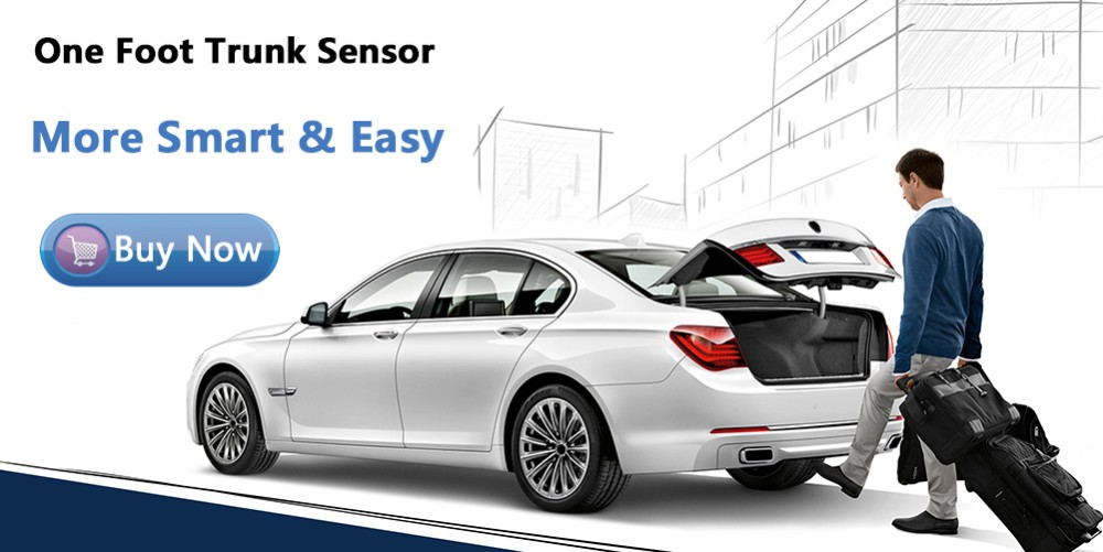 one foot sensor for your trunk