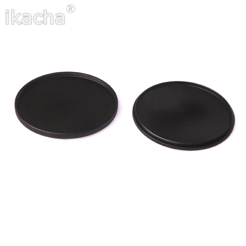New 40.5 43 46 49 52 55 58 62 <font><b>67</b></font> 72 77 82mm Metal Screw-In <font><b>Lens</b></font> <font><b>Cap</b></font> Filter Case <font><b>Lens</b></font> Cover For Canon Nikon Sony Camera image