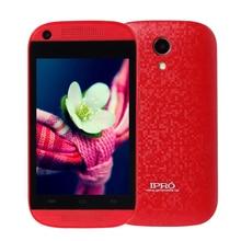 Оригинал МТК Ipro 6571 3.5 Дюймов Android 4.4 Смартфон ОПЕРАТИВНОЙ ПАМЯТИ 512 М ROM 4 Г Dual SIM Celular Мобильный Телефон Dual Core WCDMA Сотовый телефоны