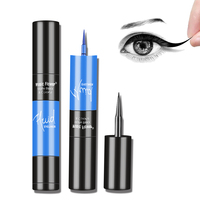 2 In 1 Dual End Eye Liner 4 Colors Matte Professional Waterproof Eyeliner Makeup Black Quick-dry Lasting Eyelid Eyes Cosmetic Makeup