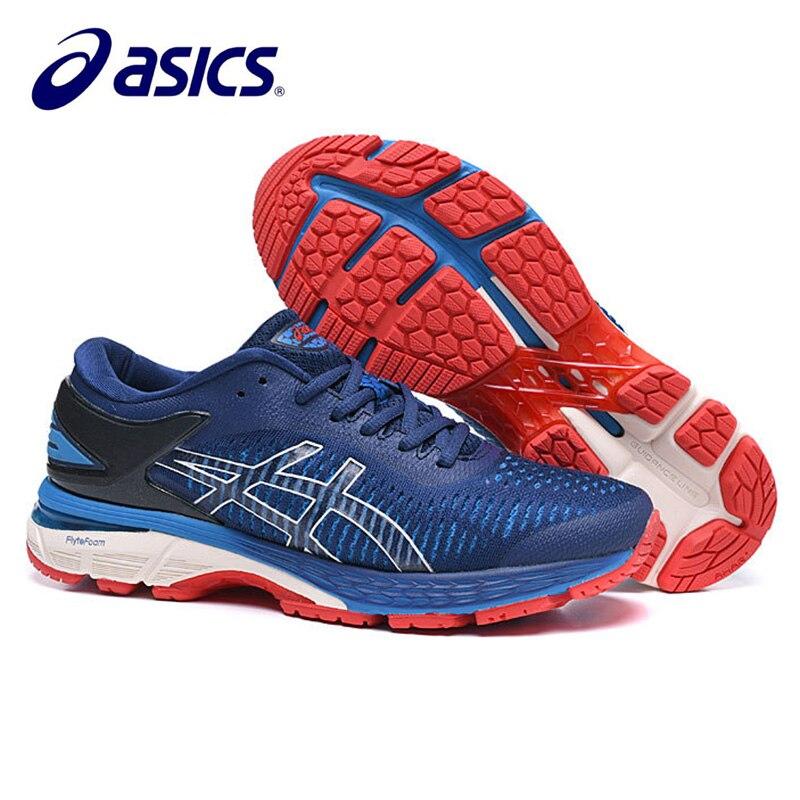 US $52.43 24% OFF 2019 Original Men's Asics Running Shoes New Arrivals Asics Gel Kayano 25 Men's Sports Shoes Size Eur 40 45 Asics Gel Kayano 25 in