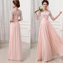 2016 Women Elegant Dress Long Maxi Sexy Evening Party Ball Prom Gown Formal Dresses Vestidos