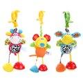 Clipe animais chocalhos de brinquedo do bebê crianças macio mouse/burro azul/rosa veados brinquedo de pelúcia brinquedo infantil carrinho de criança/cama/berço hanging toys
