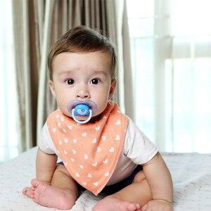 Image 3 - 16 sztuk/zestaw Unisex Baby Bandana śliniaki, 100% bawełniane śliniaki, Super stylowe wodoodporne i przeciw zabrudzeniom absorbują
