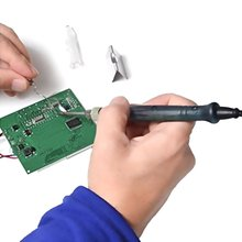 Mini Portable USB 5V 8W Electric Powered Soldering Iron Pen Tip Touch Switch Quality Useful Welding Equipment Burning Tips стоимость