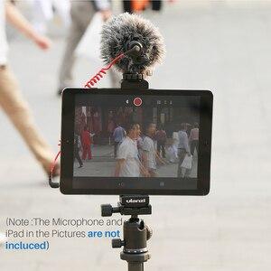 Image 5 - Ulanzi soporte de trípode de aluminio para tableta, almohadilla de montaje en Zapata fría, soporte de Clip, tornillo 1/4 para iPad Pro Mini, la mayoría de las tabletas