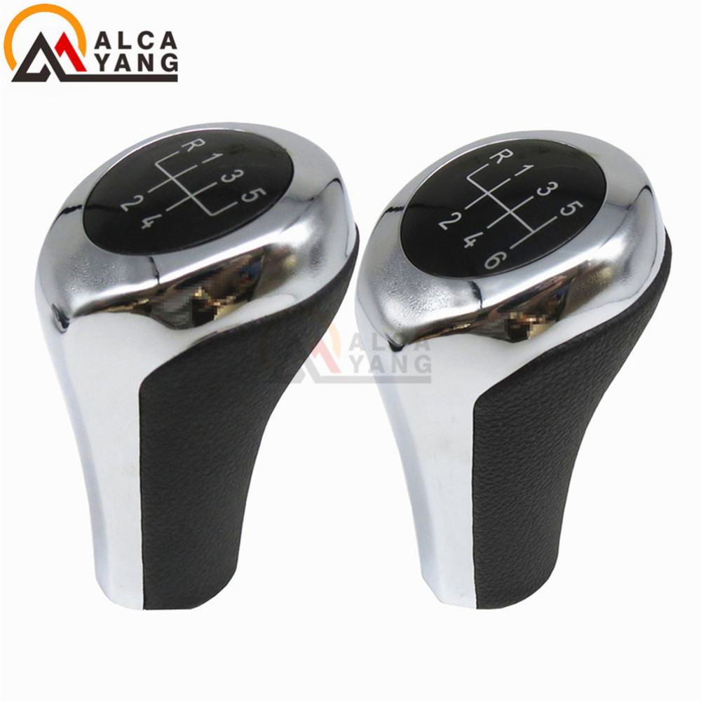 New 5 6 Speed Manual MT Gear Stick Shift Knob For BMW 1 3 5 6 Series X1 X3 X5 E60 E61 E6 ...