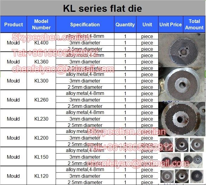 KL150 máquina da pelota morrer e rolo