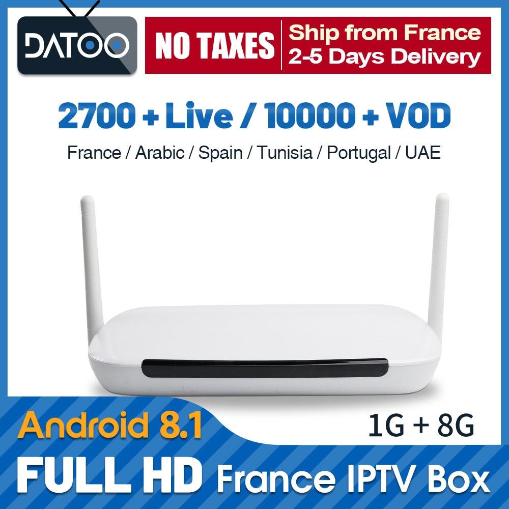 Full HD French Qatar IPTV France Arabic IP TV Belgium Morocco Portugal IPTV Subscription Q9 TV Box UAE Turkey Spain IPTV France-in Set-top Boxes from Consumer Electronics