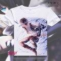 Noragami animado Aragoto Yukine Cosplay Tees hombres mujeres corto manga de la camiseta