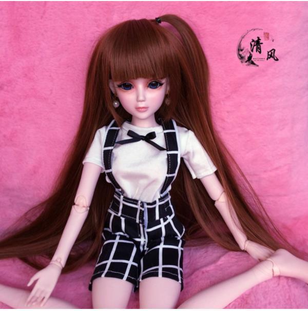 ΠΛΗΡΗΣ ΣΕΤ Κορυφαία ποιότητα 60cm pvc bjd 1/3 κορίτσι κούκλα κορίτσι περούκα παπούτσια ρούχα όλα περιλαμβάνονται! Νύχτα lolita ξαναγεννηθεί μωρό κούκλα καλύτερο mumu