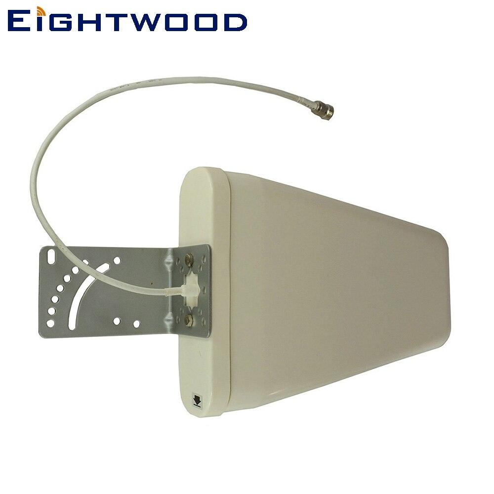 Eightwood Yagi High Gain 3G/4G/LTE/xLTE/Wi-Fi Universal Fixed Mount Directional Antenna (700-2700 MHz) 11 dBi