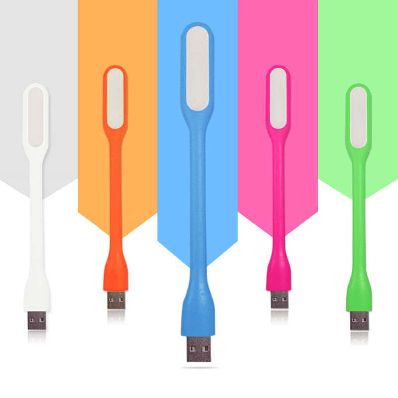 Flexible USB LED Lamp Portable Super Bright USB LED Lights For Power Bank Computer PC Laptop Notebook Desktop 5 Colors JSX TSLM1 new k5 led usb hat led light lamp flexible variety of colors for notebook laptop pc computer blue white yellow