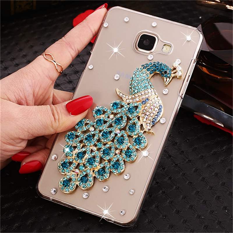 3D Bling Phone Case For Samsung Galaxy S6 S7 Edge S10 S8 S9 J4 J6 A6 A8 Plus A7 A9 2018 Note 9 8 M10 M20 A50 A70 A10 A20 S Cover