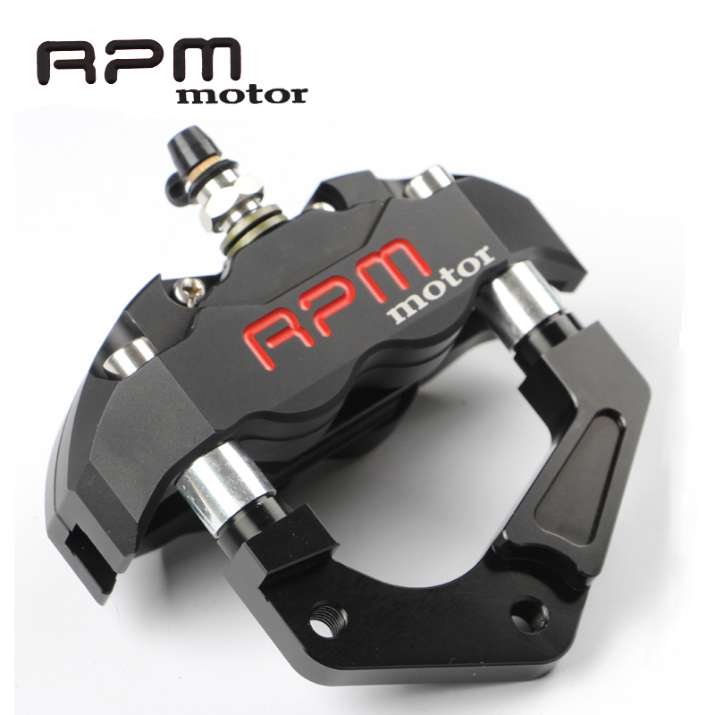 Motorcycle Front Fork Brake Calipers RPM motor For 200 / 220mm Disc Brake Pump Bracket For Yamaha Aerox Nitro JOG 50 rr BWS 100 for yamaha aerox nitro jog 50 rr bws 100 rpm brand cnc motorcycle brake calipers 200mm 220mm disc brake pump adapter bracket kit