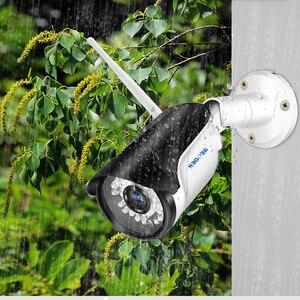 Image 3 - BESDER Yoosee gözetim açık IP kamera WiFi hareket algılama RTSP ONVIF güvenlik kamerası WiFi kablolu SD kart yuvası ile IP66 Metal