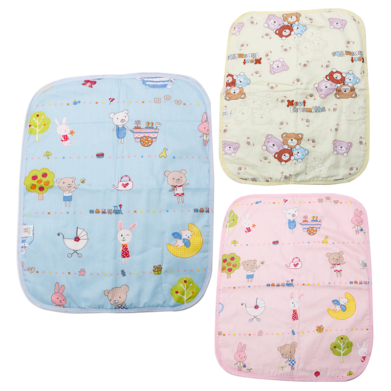 Baby Infant Diaper Nappy Urine Mat Kid Waterproof Bedding Changing Cover Pad USA