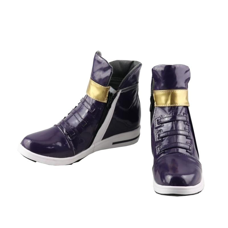 LOL KDA Akali Cosplay shoes free shipping