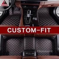 Индивидуальные автомобиль коврик для Mitsubishi ASX RVR Outlander 3 2 1 Спорт Pajero любую погоду высокого качества прочные ковры лайнер