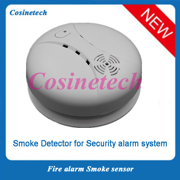 MCU Tech standalone photoelectricity smoke detector,wireless smoke sensor for home security alarm system for G90B WIFI alarm