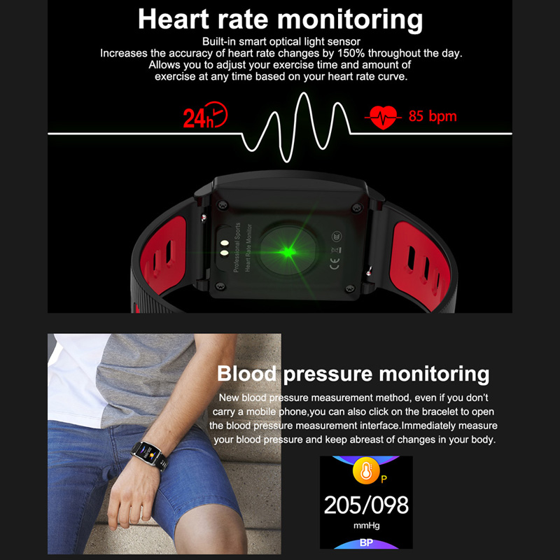 Image 3 - Smart Sports Watch Men Women Heart Rate Bracelet Blood Pressure Sleep Monitor Fitness Tracker Waterproof Android IOS Color Band-in Smart Wristbands from Consumer Electronics