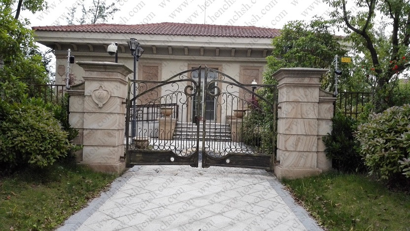 Hench 100% Handmade Forged Custom Designs Metal Porch Gate