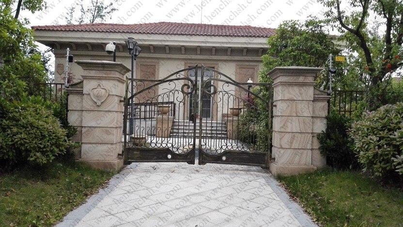 top villa forjado por puertas de hierro forjado puerta de hierro forjado vig