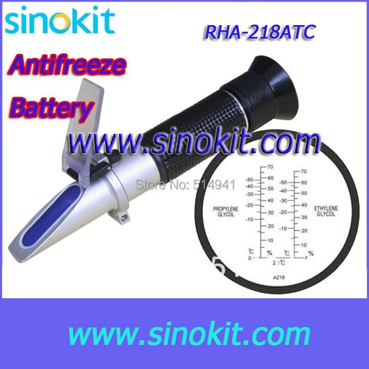 Didmeninė antifrizo refraktometras RHA-218ATCBlack