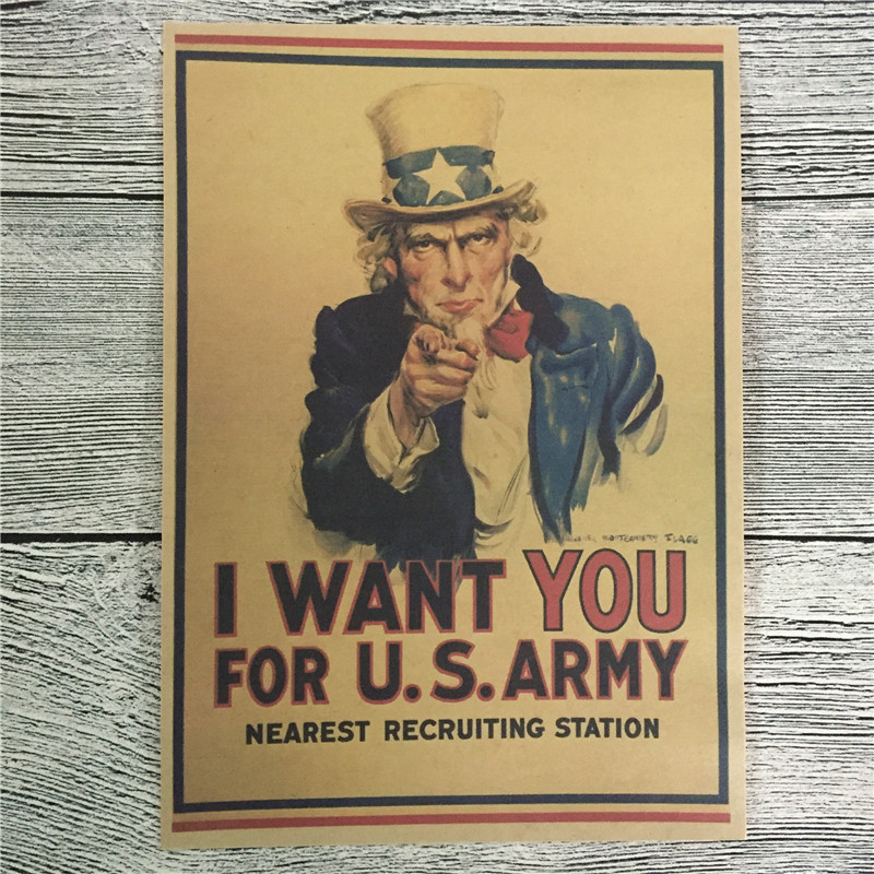 Uncle Sam Standing