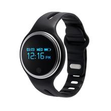 E07 Bluetooth SmartBand Водонепроницаемый умный Браслет фитнес-трекер cicret часы PK fit бит xao Mi band для IOS Android Xiaomi