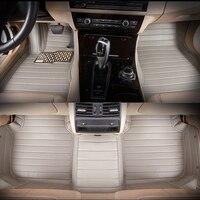 5seats LHD full surrounded waterproof non slip car floor mats for Auris Hybrid US version left steering wheel