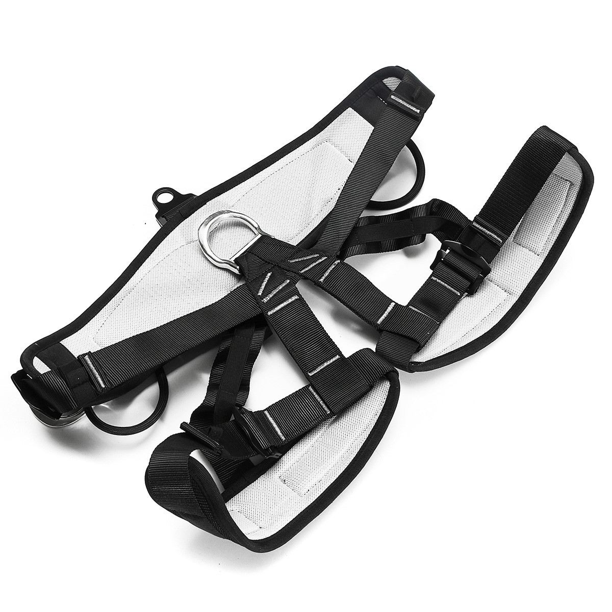 Outdoor Climbing Harness Seat Belt High strength Safety Rappelling belts Downhill Rappel Belts Adjustable Climb Rescue Equipment new professional safety rock tree climbing rappelling harness seat sitting bust belt safety harness
