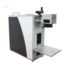 Волоконно-лазерная маркировочная машина для армейской таблички, лазерный штангенциркуль для маркировки