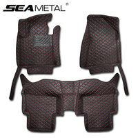 SEAMETAL LHD For KIA Sportage QL 4th 2016 2017 Custom Car Floor Mats Leather No Smell