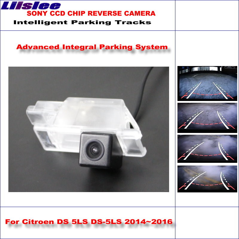Liislee Original Style Back Up Camera For Citroen DS 5LS DS-5LS 2014~2016 Rear view Parking / Dynamic Guidance Tragectory