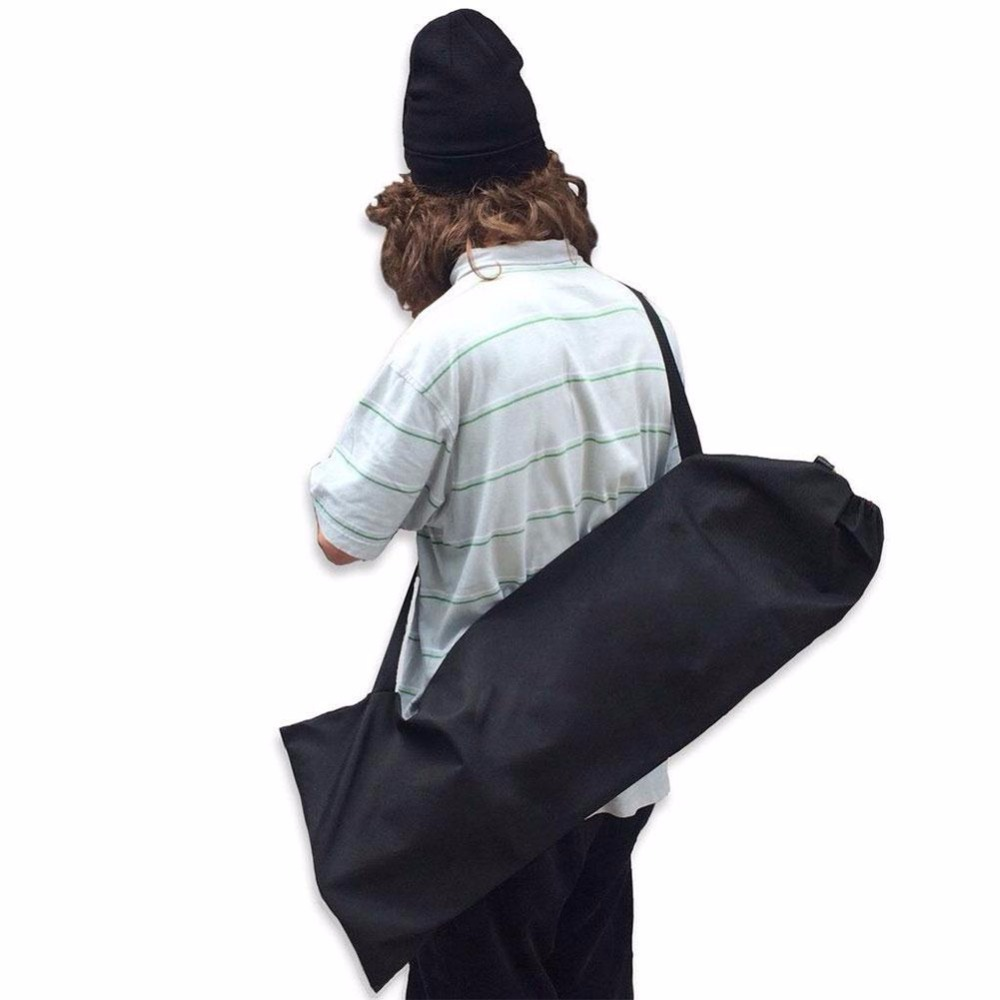 Waterproof Skateboard Longboard Carry Storage Shoulder Bag Backpack Handbag