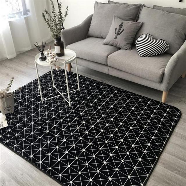 Brief Trend Rugs And Carpets For Home Living Room Kids Bedroom Area Rug Coffee Table
