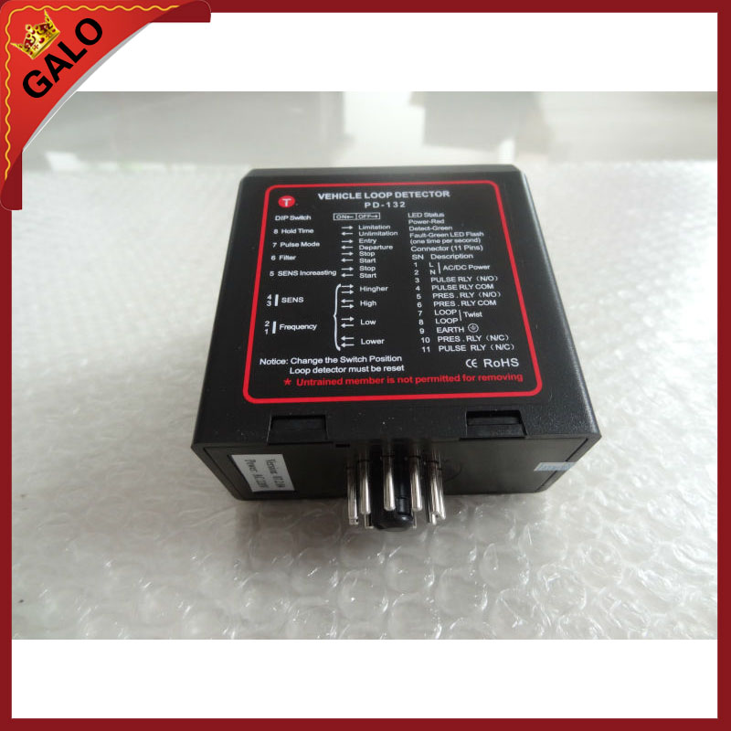 loop car detector/ loop induction vehicle detector working with induction loop подсвечник loop хром медь 1281248