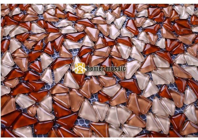 Enjoyable Us 239 99 Bulk Particles Brown Crystal Glass Mosaic Tiles For Living Room Kitchen Backsplash Bathroom Fireplace Wall Floor Mosaic Tiles In Download Free Architecture Designs Jebrpmadebymaigaardcom