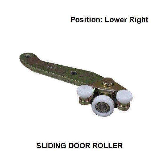 OE#701843406B FOR VW T4 Transporter Caravelle Sliding Door Roller Guide Bottom Lower Right Side 1990-2004 New