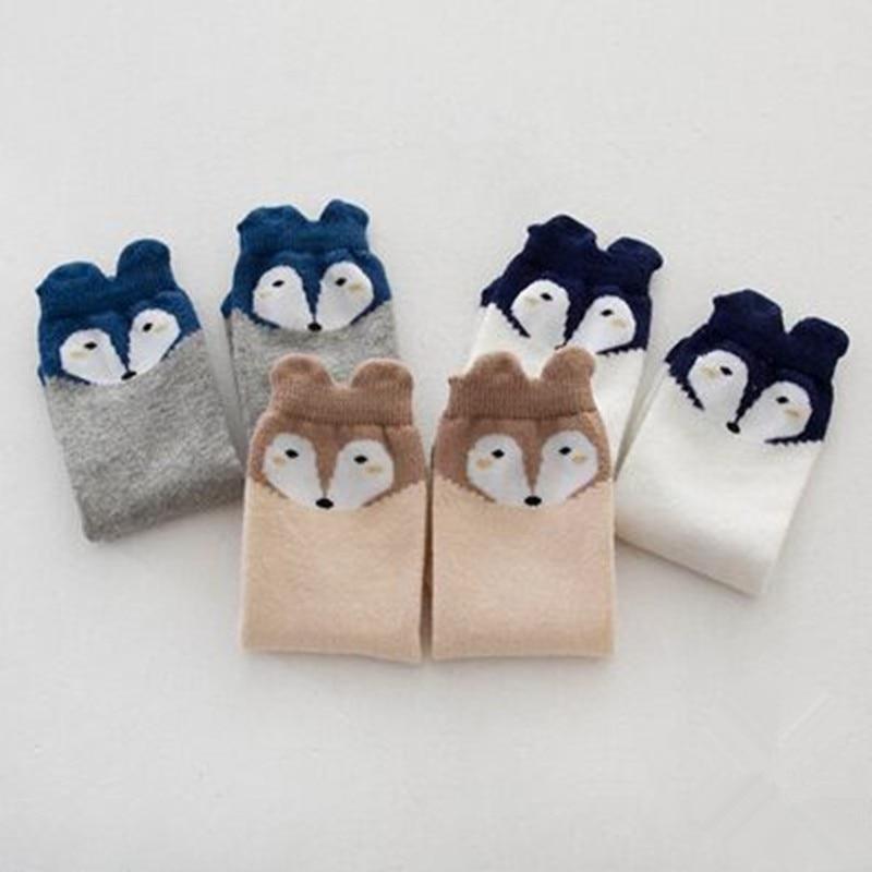 Fox-Design-3-Colors-Cotton-Knee-Baby-Socks-Winter-Fall-Cute-Boys-Girls-Socks-4