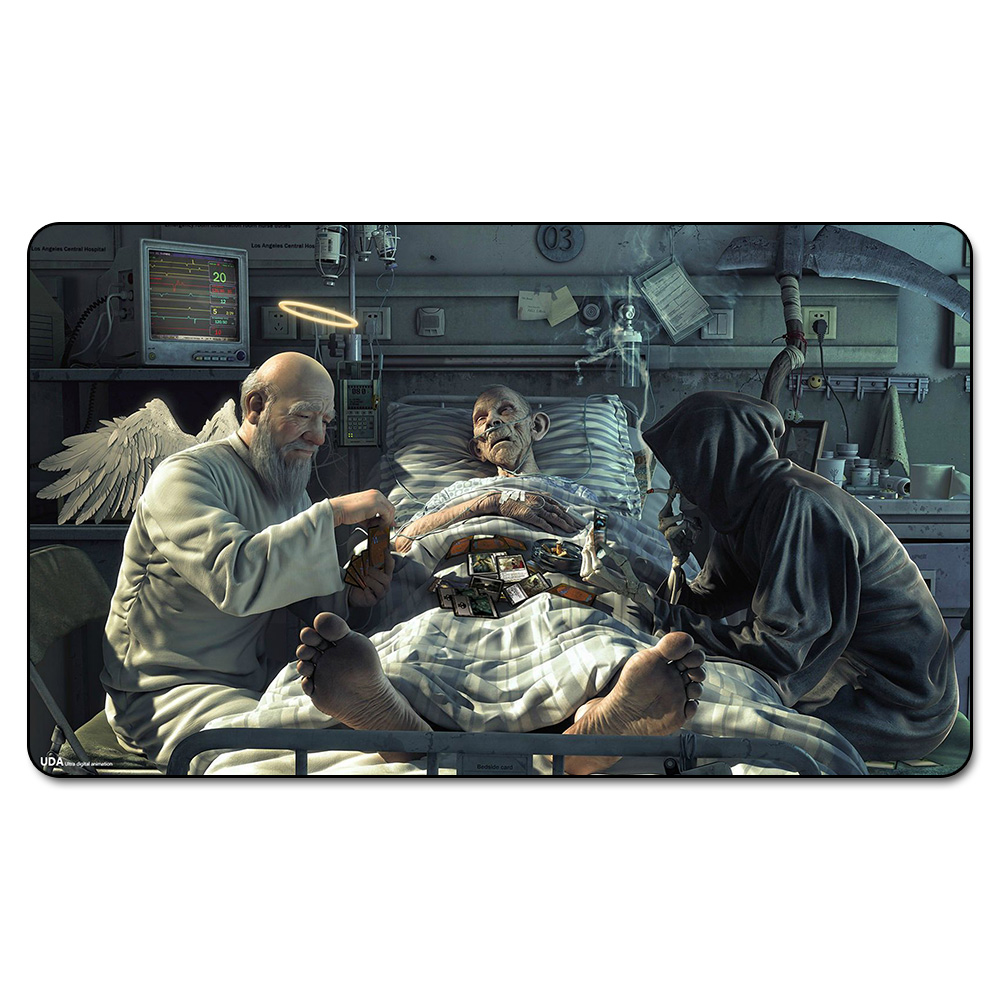 Many Choice Magic Card Games Custom Playmat MGT Life Is A Game Playmat, Board Games Ultra. Table Pad Pro with Free Bag