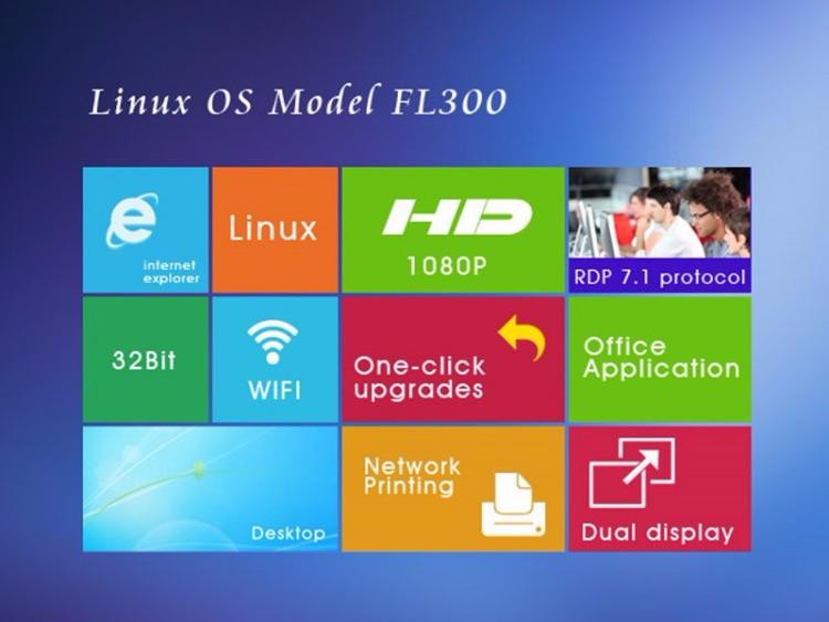 Linux thin client
