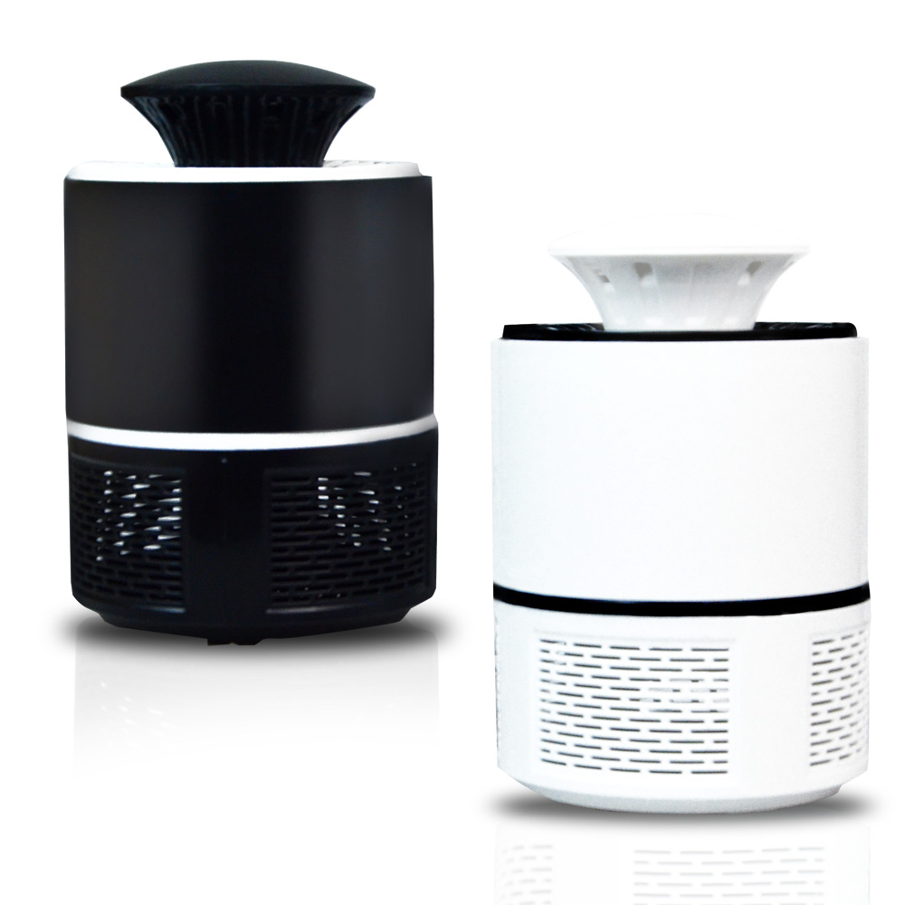 2 Pcs Per Lot Non Toxic Electric Mosquito Killer Lamp with LED to Trap Bugs and Insects