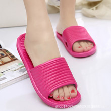 2016 Summer Hot Sale 10 Colors EVA Anti-skid Bathroom Indoor Shoe High Quality Women Slippers HSA19