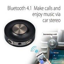 Avantree Bluetooth De Voiture Kit et Bluetooth Récepteur A2DP pour la diffusion de musique et appel De Voiture Stéréo Mains Libres sans batterie CaraBasic