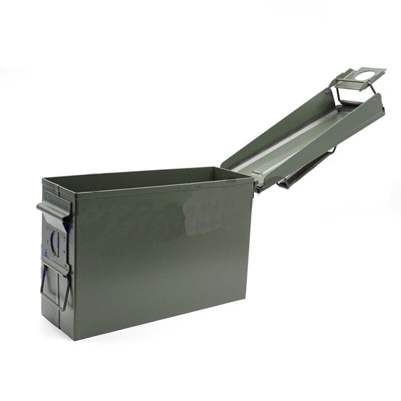 1 PC petite taille 255*90*170mm boîte en métal boîte de stockage de batterie boîte Anti-explosion coffre-fort valise pour FPV Lipo batterie RC Acc